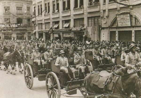 Paradas Militares Curitiba 1944